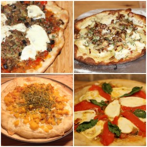 Four ways with Pizza on the Big Green Egg