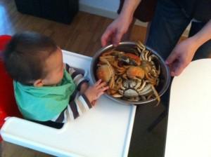 """""""Ooh, crab..."""""""
