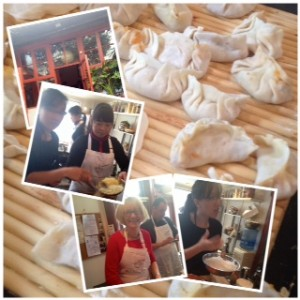 Dumpling fun at Black sesame Kitchen