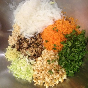 Pretty as a picture - vegetarian mix