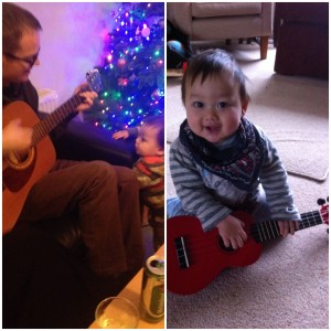 Jammin' with Dad