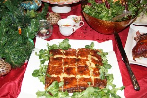 Smoked haddock and gruyere quiche