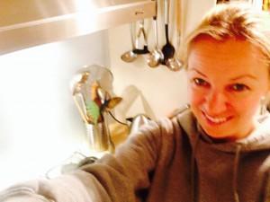 Claire's new kitchen
