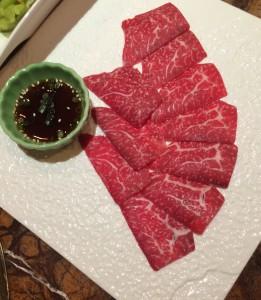 Waygu Sashimi