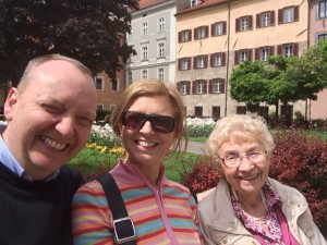 "A ""selfie"" from my Mum in Innsbruck"