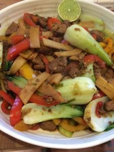 5:2 Indonesian Pork Stir-fry