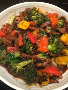 Chillie Beef with Black Bean and Yellow Bean Sauce